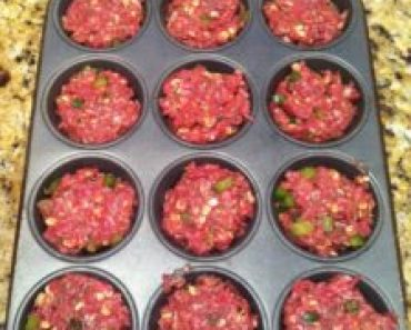 Make Meatloaf in a Muffin Pan
